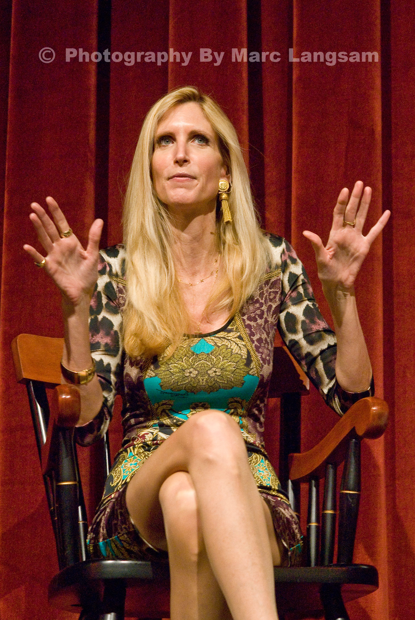 Ann Coulter @ USC | The World Through My Eyes