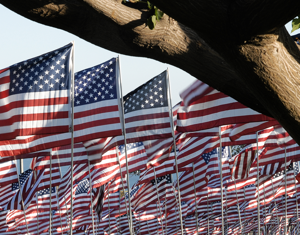 Pepperdine 9 11 Flags 2010 The World Through My Eyes