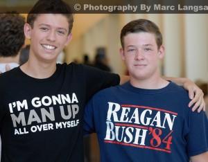 BushReaganManUpShirts