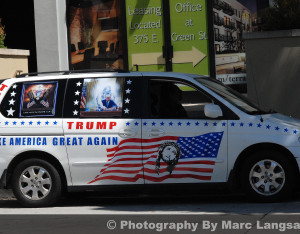 Politicon 2017 - Trump Van