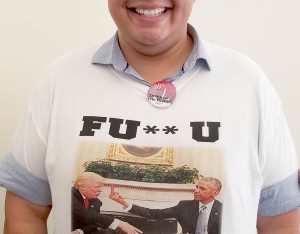 Politicon 2017 - FU Trump Shirt