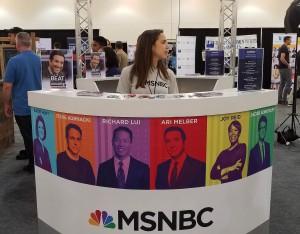 Politicon 2017 - MSNBC Booth