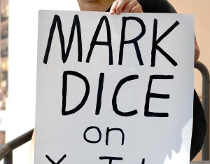 Politicon 2017 - Mark Dice Sign